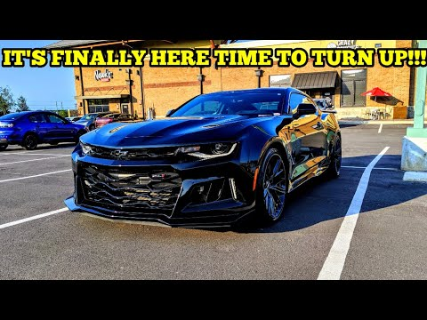 I BOUGHT A 2018 CAMARO ZL1!!! THE NEW CHANNEL CAR IS FINALLY HERE!!