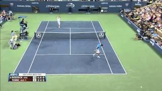 Andy Roddick Vs Bernard Tomic -  US Open 2012  R2 (HD)