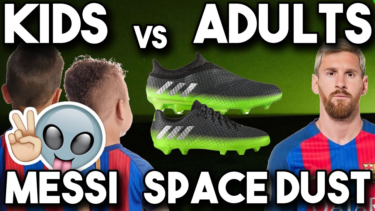 Massive Messi Unboxing- adidas Space Dust Soccer Cleats & Boots - YouTube