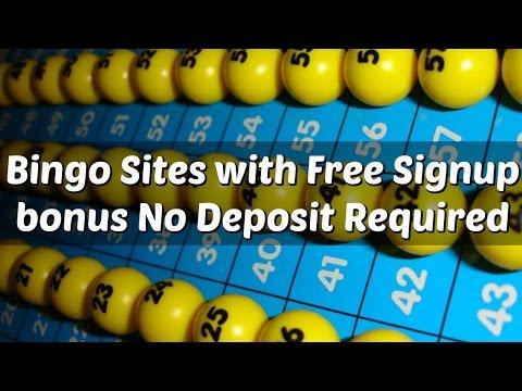 Bingo Sites With Free Signup Bonus No Deposit Required