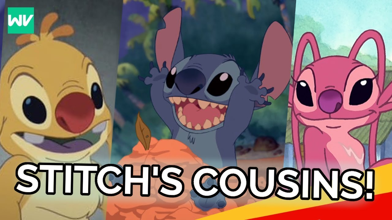 The History Of All Of Stitchs Cousins Discovering Disney Youtube