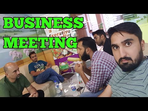 DUBAI BUSINESS MEETING WITH INVESTORS !!!