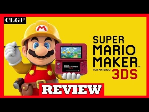 Download Super Mario Maker 3DS Review!
