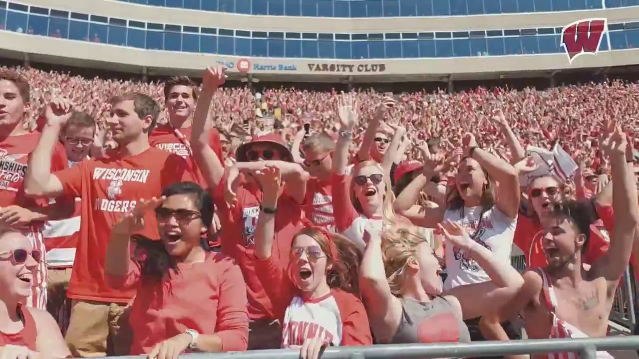 Jump Around At Camp Randall Stadium