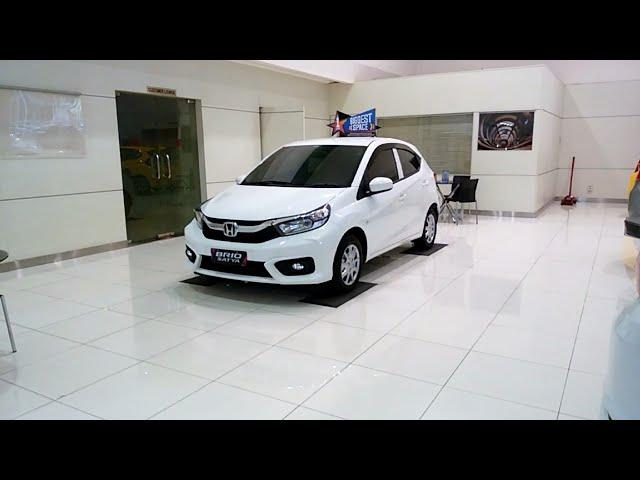 All New Brio E CVT 2019 Putih Siap Dipesan.