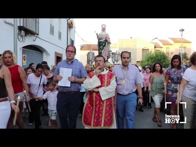 VÍDEO: Procesión de Santa Marta 2017