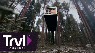 Stay in a Treehouse Hotel in Sweden - Travel Channel