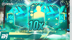 10 X GUARANTEED FLASHBACK PLAYER PACKS! | FIFA 20 ULTIMATE TEAM