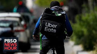 With food-delivery apps like Uber Eats, who's actually making money?
