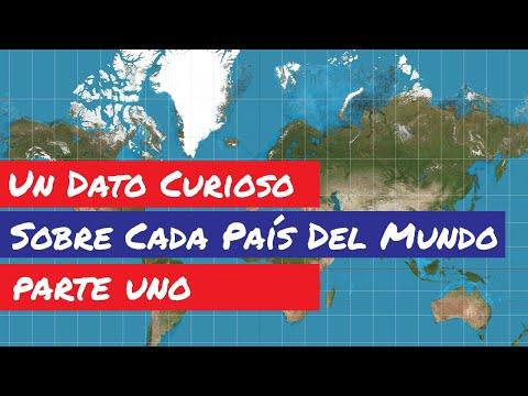 Un Dato Curioso Sobre Cada País Del Mundo   Banderas Y Mapas Del Mundo   Países Del Mundo - Parte 1