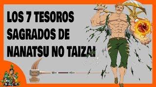 LOS 7 TESOROS SAGRADOS DE NANATSU NO TAIZAI