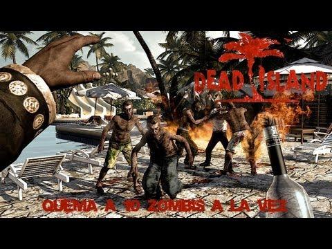 Dead Island Guía - Dead Island-Fuego en el cuerpo-Prende fuego a 10 zombis a la vez-Guía de Logros o Trofeos