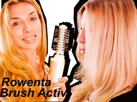 Фен щётка Cf 9220d0 Rowenta Brush Active 1000 Doovi
