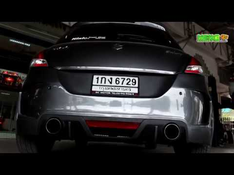SUZUKI Swift 1 2 Eco ● Cat Back Exhaust System ● ออก2ข้าง ● By MENGHEADER  Innovation Exhaust system®