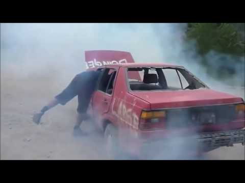 Diesel Engine Runaway Compilation 2017