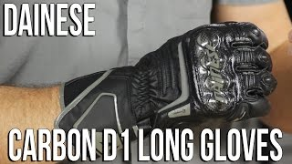 Dainese Carbon D1 Long Gloves Review from Sportbiketrackgear.com