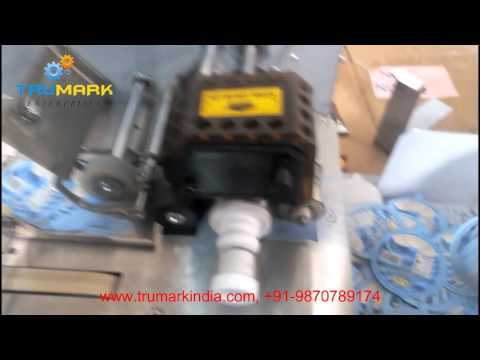 date printing, batch coding mrp marking printing  machine on ice cream lids