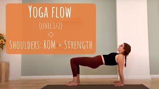 Yoga Flow - Shoulders range and strength - yoga.athena