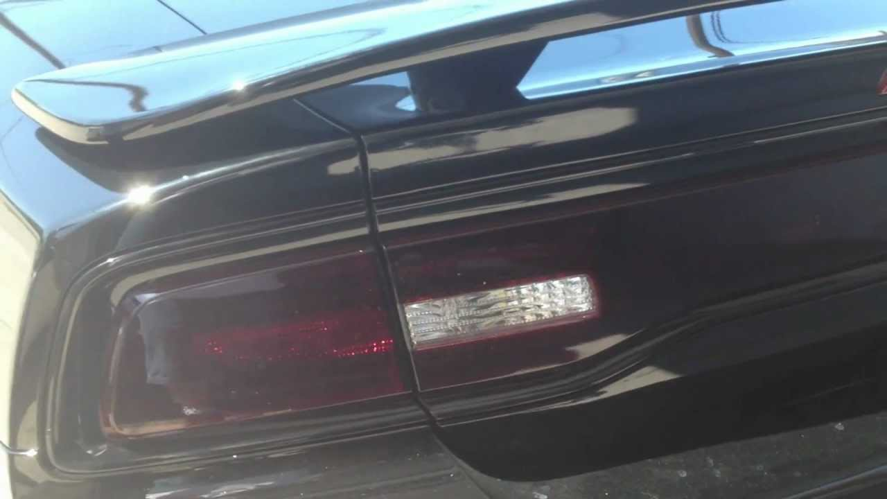 2012 Dodge Charger After Taillights Tinted Part 2 Youtube