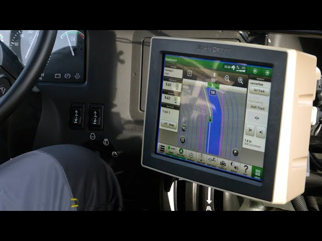 John Deere HD200 GPS PrecisionSprayer — Display Training Video