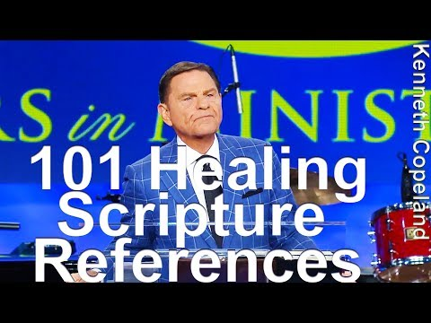 "101 Healing Scripture References - Kenneth Copeland reads from Keith Moore's ""GOD's Will To Heal"""