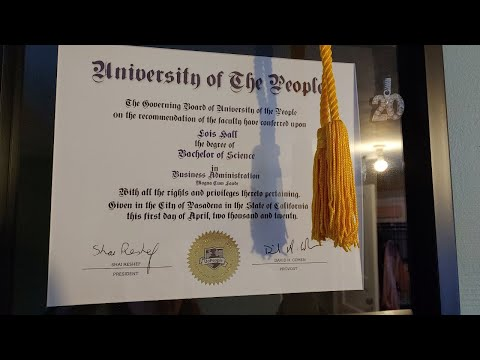Why I chose The University of the People Ultra Low Cost Degree
