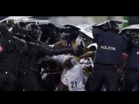 Crowd Trouble in Malabo - Ghana vs Equatorial Guinea