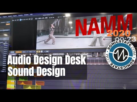 NAMM 2020: Audio Design Desk Sound Design