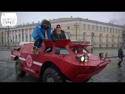 Richard Ayoade & Rob Beckett drive a tank in St. Petersburg - Travel Man: 48 Hours in...