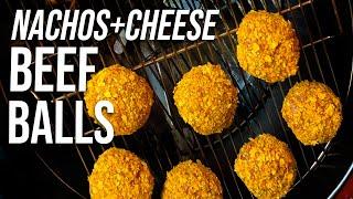 Nachos + Cheese Beef Balls