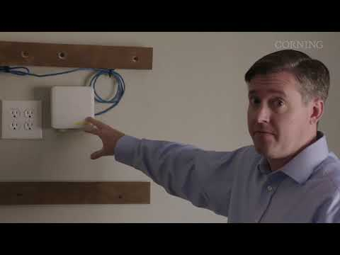 Corning ONE™ Fiber-to-the-Room Deployment