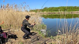 На Пуфики не клюёт Ловля карася на пенотесто Рыбалка на кормачки