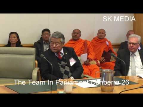 SK Media Report By Mr Korb Sao Trip To Parliament Canberra 25