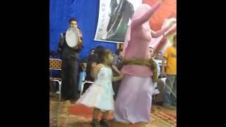 رقص محجبة في فرح شعبي جامد