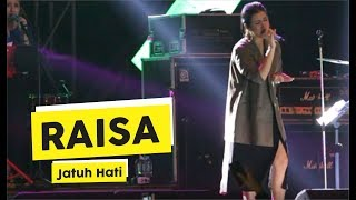 Video [HD] Raisa - Jatuh Hati (Live at MAKERFEST 2018, Yogyakarta) download MP3, 3GP, MP4, WEBM, AVI, FLV September 2018