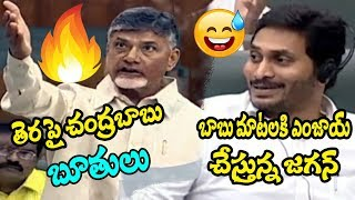 Chandrababu Naidu Speech AP Assembly 2019 || Jagan Enjoying to Chandrababu Speech