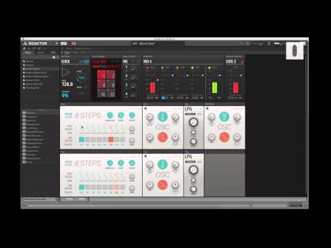 Creating Modular Sequences In Reaktor Blocks