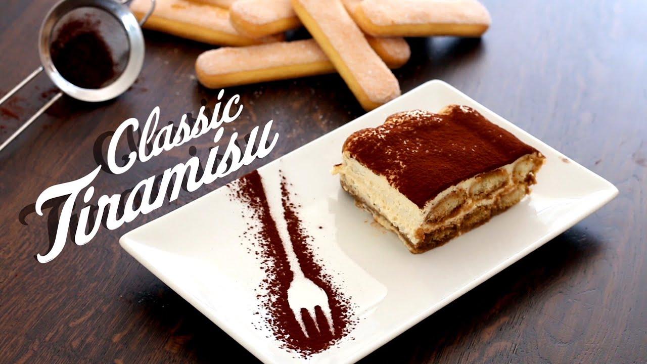 Classic Tiramisu Recipe - YouTube