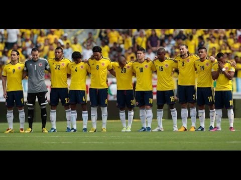Fifa World Cup 2014 Colombia National Football Team