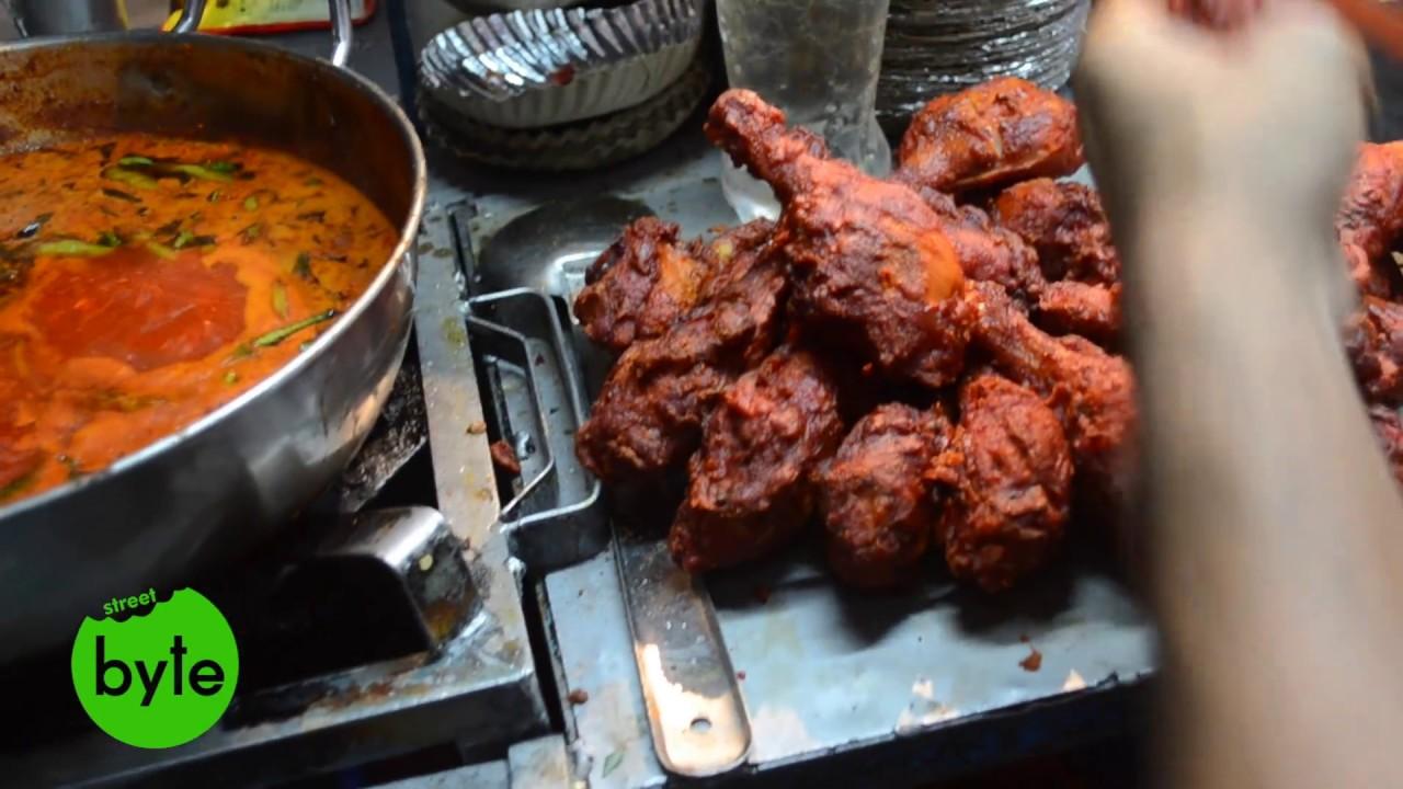 Most Satisfying Chicken Dishes Chicken Street Food In Hyderabad Chicken Leg Piece Street Byte