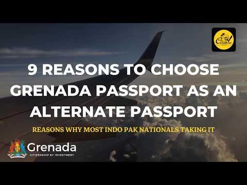 9 Reasons To Choose Grenada Passport As An Alternate Passport! Grenada Citizenship  Benefits