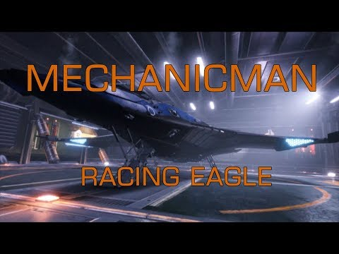 Elite Dangerous - MechanicMan's ship inspections and maintenance - Racing Eagle