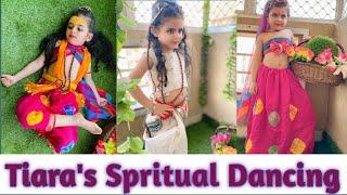 Radha kanha dress # janmashtami special#krishna dress#radha dress#janmasthmi dress# kids dance video