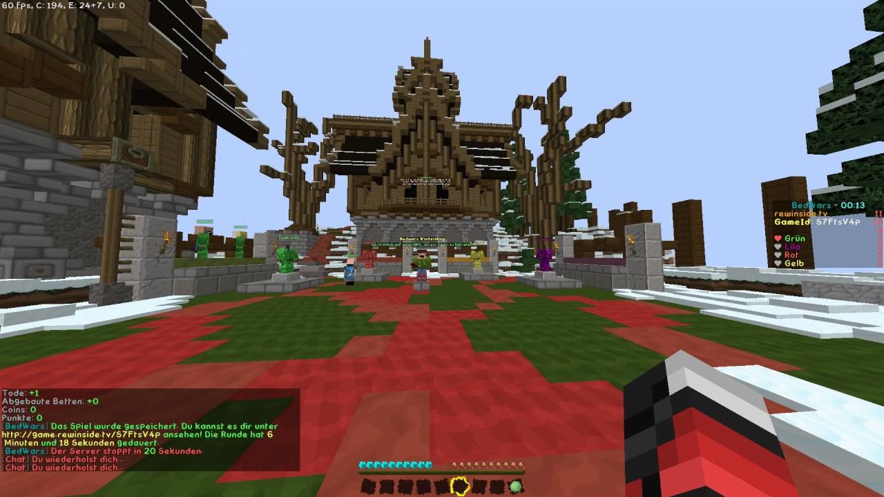 Minecraft Bedwars I Sorry Dass Ab Ist Ein Bug XD YouTube - Minecraft spiele anschauen