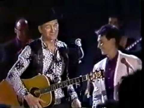 "Stompin' Tom Connors, 1990, ""Lady K D Lang"" & ""CA-NA-DA (Cross Canada)"""