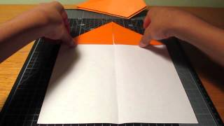 Origami: How To Make The Most Simple Paper Airplane