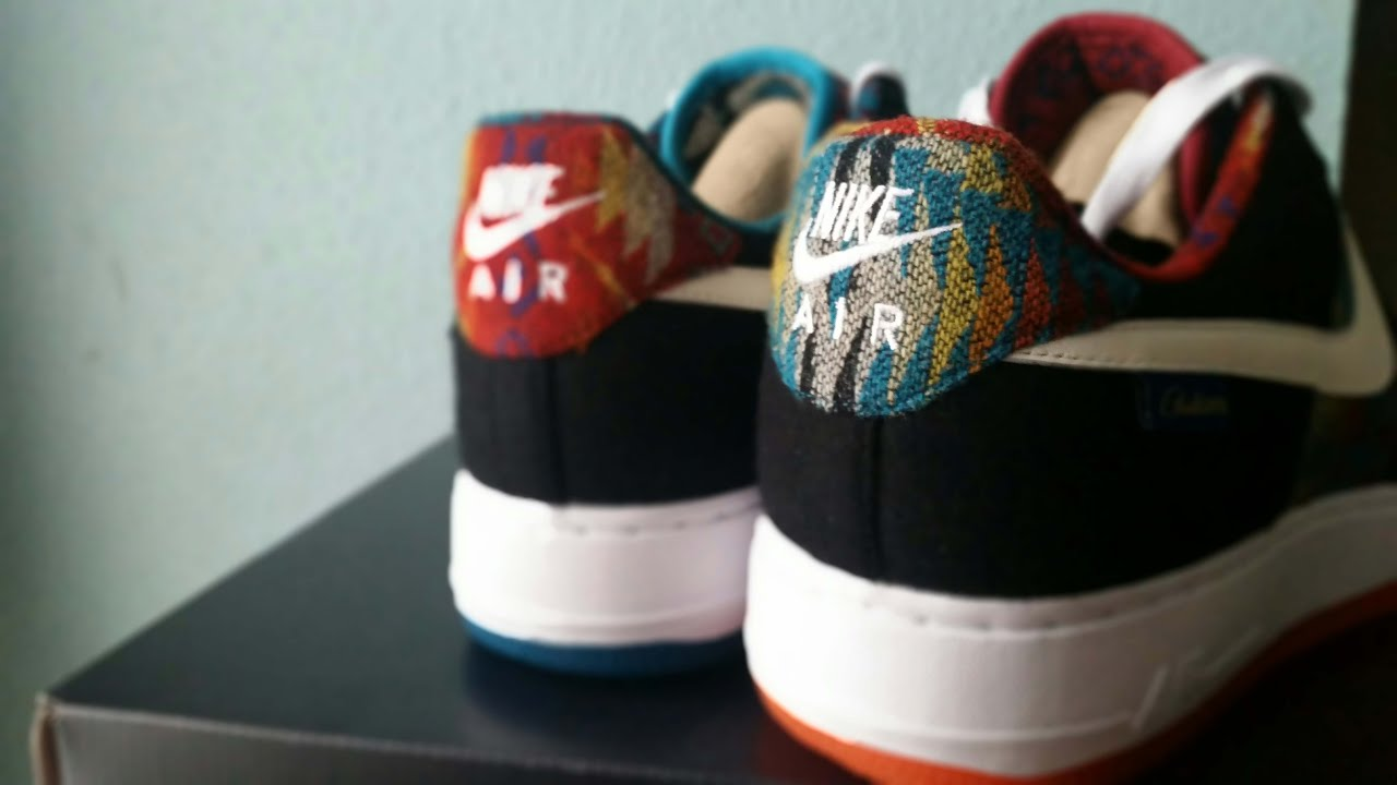 Nike Air Force 1 ID Perfect Mismatch 5 Days Of Pendleton