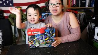 The Joker Batcave Attack Lego Unboxing & Building