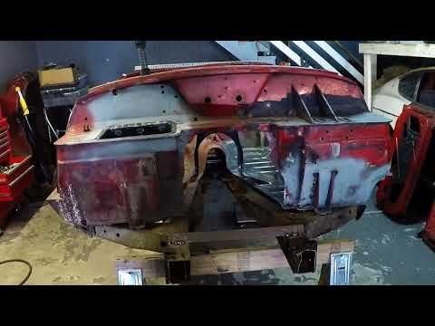 Triumph Spitfire Body Repair – Frame and Floor