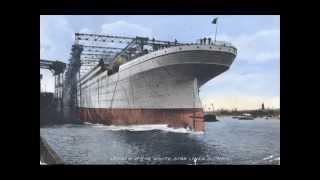 Titanic Olympic and Britannic